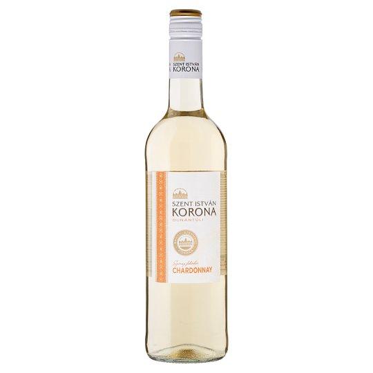 Szent István Korona Dunántúli Chardonnay Dry White Wine 0,75 l