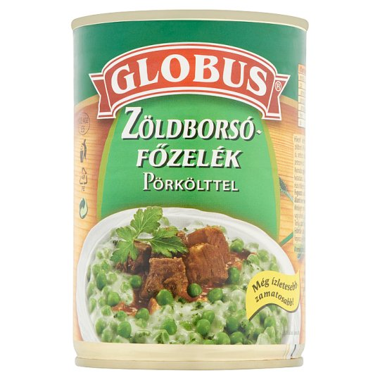 Globus Green Pea in Cream Sauce with Stew 400 g