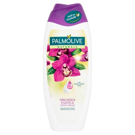 Palmolive Naturals Exotic Orchid tus- és habfürdő orchidea kivonattal és hidratáló tejjel 500 ml