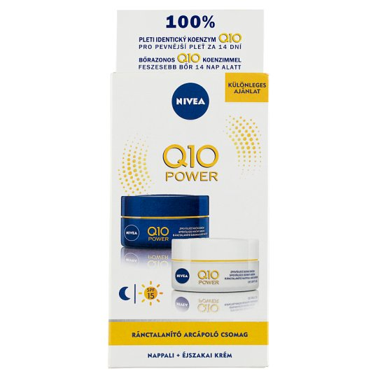 NIVEA Q10 Plus Anti-Wrinkle Day and Night Cream 2 x 50 ml