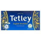 Tetley English Breakfast filteres fekete tea 25 filter 50 g
