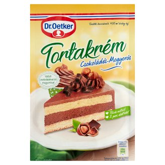 Dr. Oetker Chocolate-Peanut Cake Cream 130 g