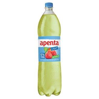 Apenta Light kaktuszfüge ízű üdítőital enyhén szénsavas ásványvízzel, édesítőszerekkel 1,5 l