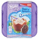 Milka & Oreo Egg 'n' Spoon Alpine Milk Chocolate with Vanilla Flavoured Cream Filling 128 g