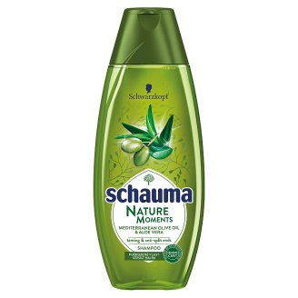 Schauma Nature Moments Mediterrán Olívaolaj & Aloe Vera sampon 400 ml