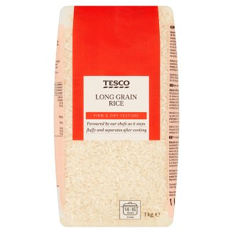 Tesco Pre-Cooked Long Grain Rise 1 kg