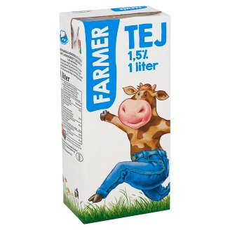 Farmer UHT Low-Fat Milk 1,5% 1 l