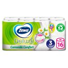 Zewa Deluxe Camomile Comfort Toilet Paper 3 Ply 16 Rolls
