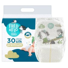 image 2 of Fred & Flo Premium 2 Mini 3-6 kg Nappies 30 pcs