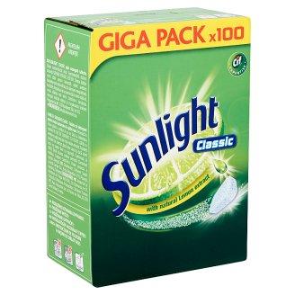 Sunlight Classic gépi mosogató tabletta 100 db 950 g
