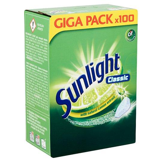 SUNLIGHT Classic Gépi Mosogatótabletta 100 db