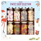 Tesco Sweet Shop Selection A Selection of 8 Sweet Shop Favourites in Mini Jars 570 g