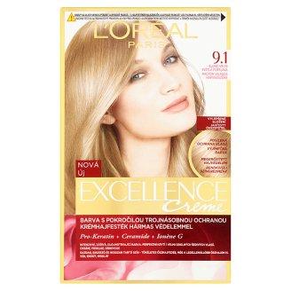 image 1 of L'Oréal Paris Excellence Creme 9.1 Very Light Ash Blonde Permanent Hair Colorant