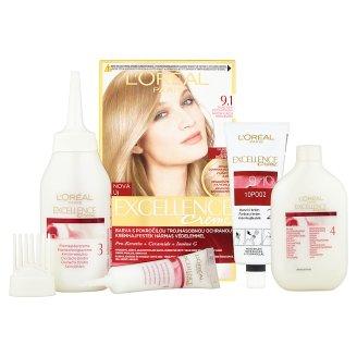 image 2 of L'Oréal Paris Excellence Creme 9.1 Very Light Ash Blonde Permanent Hair Colorant