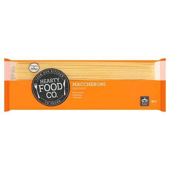 Hearty Food Co. Maccheroni 2 Egg Pasta 500 g