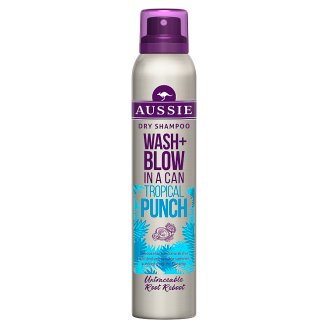 Aussie Wash + Blow Tropical Punch Szárazsampon, 180 ml