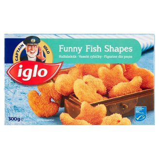 Iglo Funny Fish Shapes Quick-Frozen Fish Bite 300 g