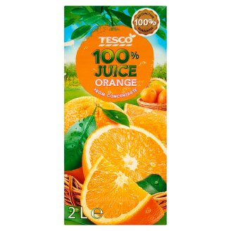 Tesco 100% narancslé sűrítményből 2 l