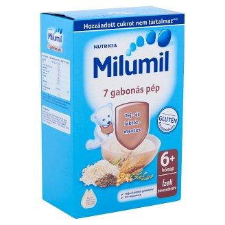Milumil 7 gabonás pép 6 hónapos kortól 225 g