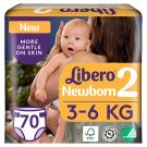 Libero Newborn 2 3-6 kg Nappies 70 pcs