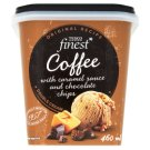 Tesco Finest Coffee Ice Cream with Caramel Sauce and Chocolate Chips 460 ml