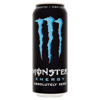 Monster Energy Absolutely Zero Carbonated Soft Drink 500 ml