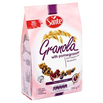 Santé Granola Crispy Granola Muesli with Pomegranate 350 g