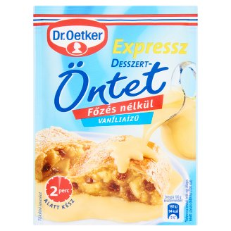 Dr. Oetker Expressz Vanilla Flavoured Dessert Coating Powder 39 g
