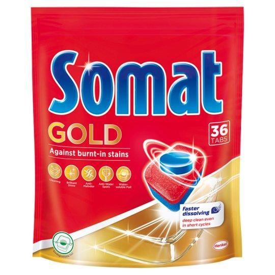 Somat Gold Dishwasher Tabs 36 pcs 891,2 g