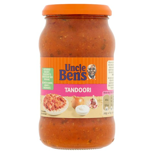 Uncle Ben's Tandoori Curry Sauce with Tomato and Sour Cream 400 g