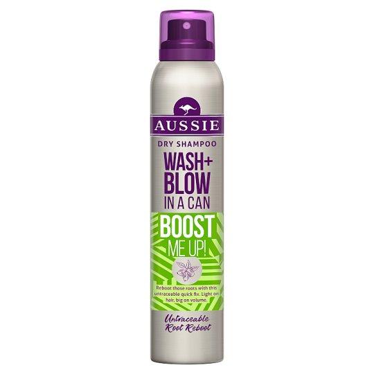 Aussie Wash + Blow Boost Me Up Szárazsampon, 180 ml