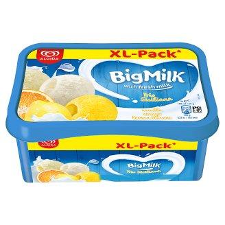 Big Milk Trio Siciliana vanília-tejszín ízű jégkrém, narancs szorbé és citrom ízű jégkrém 1400 ml