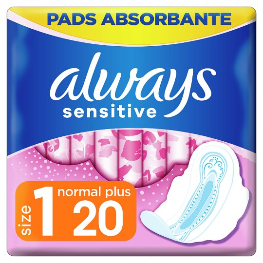 Always Sensitive Normal Ultra Sanitary Towels With Wings 20x