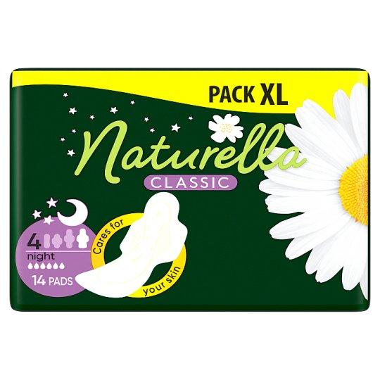 Naturella Classic Night Camomile Éjszakai Betét, 14 db