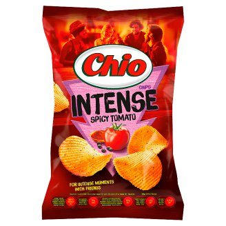 Chio Intense Tomato-, Chili- and Pepper Flavoured Potato Chips 70 g