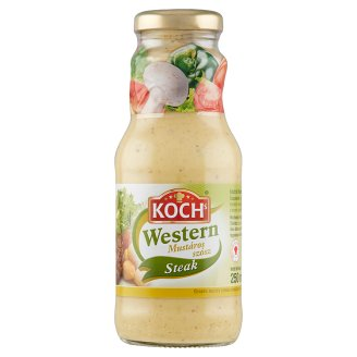 KOCHs Western mustáros szósz sültekhez 250 ml