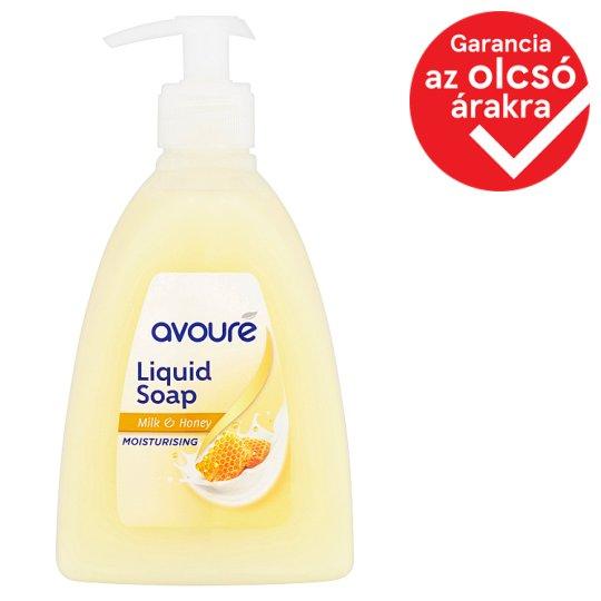 Avouré Milk & Honey Liquid Soap 500 ml