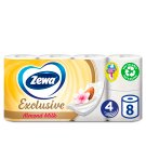 Zewa Exclusive Almond Milk Toilet Paper 4 Ply 8 Rolls