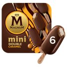 Magnum Mini Multipack Double Caramel Ice Cream 6 x 60 ml