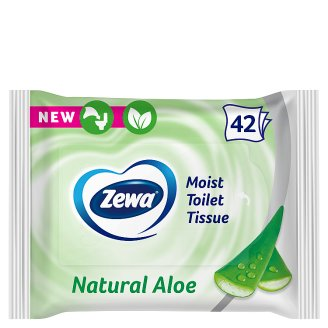 Zewa Aloe Vera Moist Toilet Tissue 42 pcs