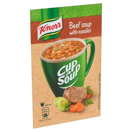 Knorr Cup a Soup Beef Soup with Noodles 13 g
