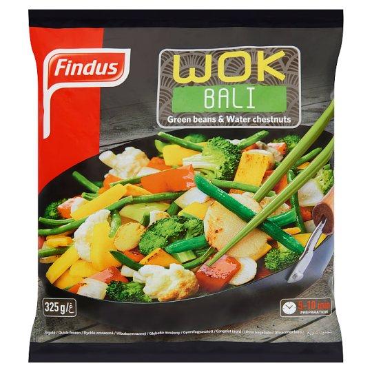 Findus Wok Bali gyorsfagyasztott enyhén fűszerezett wok zöldségkeverék 325 g