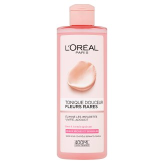 L'Oréal Paris Tonic with Extracts of Rare Flowers for Dry and Sensitive Skin 400 ml