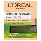 L'Oréal Paris Smooth Sugars finomszemcsés, tisztító cukorradír 50 ml