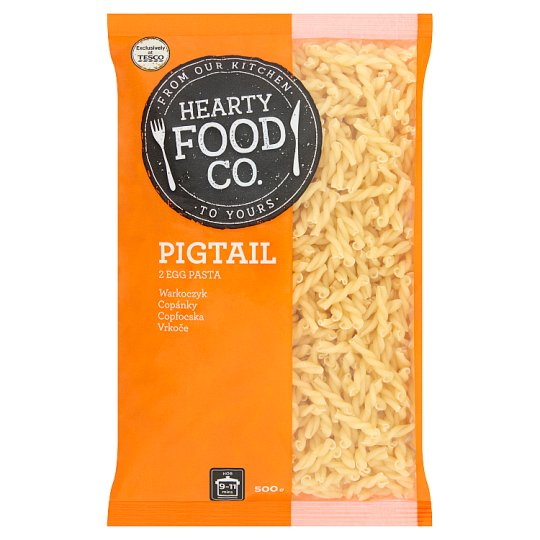 Hearty Food Co. Pigtail 2 Egg Pasta 500 g