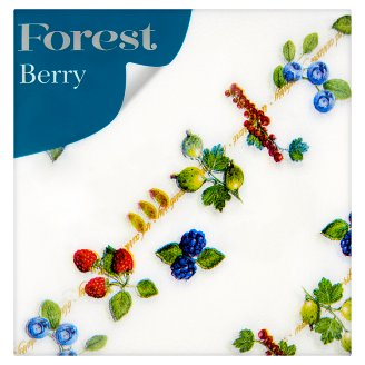 Forest Berry Patterned Napkins 1 Ply 30 x 30 cm 60 pcs