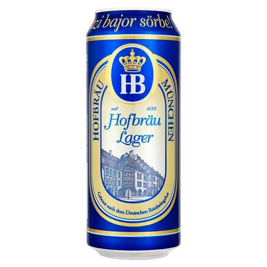 HB Hofbräu München Lager Beer 4% 0,5 l