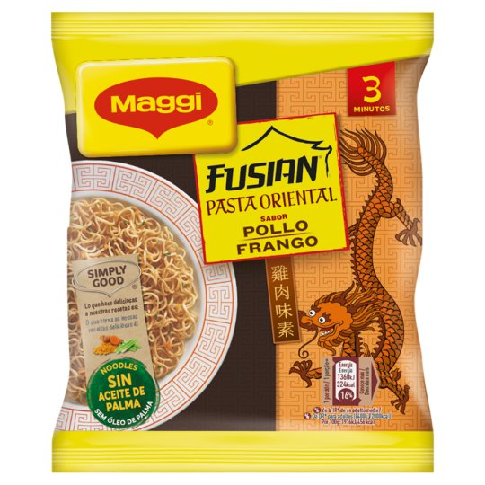 Maggi Fusian P. Oriental Chicken Flavoured Pasta 71 g