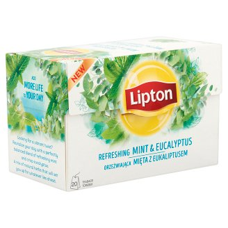 Lipton Refreshing Mint & Eucalyptus Tea 20 Tea Bags