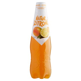 Natur Zitrone Alcohol-Free, Mango-Lemon Flavoured Carbonated Drink 0,5 l Plastic Bottle